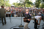 What a rockin crowd at the Boulder Creek Festival!